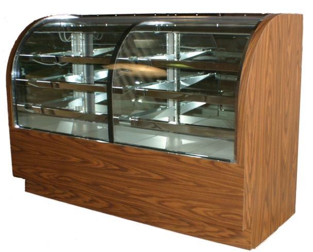 The Dual Zone Bakery Display Case Is Two Bakery Display