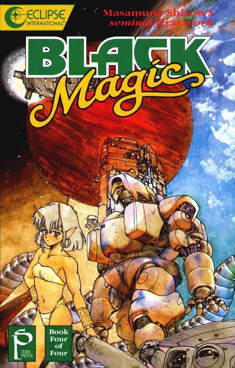 black magic m-66 | Masamune Shirow - Black Magic M-66 (1983