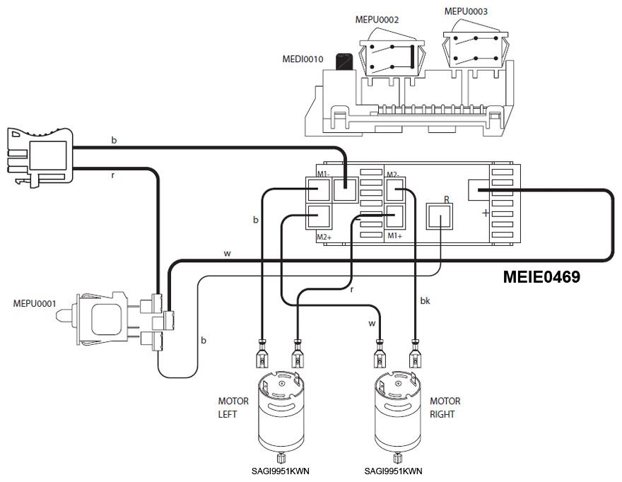 John Deere Power Pull Wire Diagram | bebe | Peg perego, Power wheels, Kids power wheels