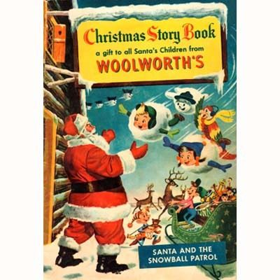 Christmas Toy Catalogs By Mail.1953 Fw Woolworth Christmas Toy Catalog Comic Color