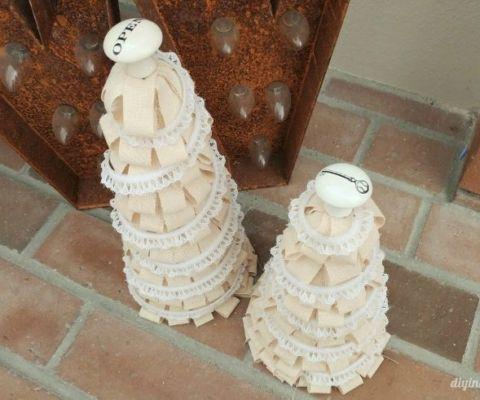 christmas-craft-ideas-fabric-trees
