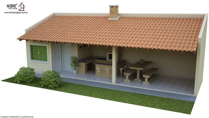 Tipos de projetos de ediculas casa e constru o for Tipos de terreno