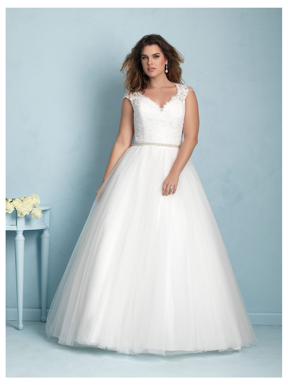 Allure Women Wedding Dress Style W350 | House of Brides | Here Comes ...