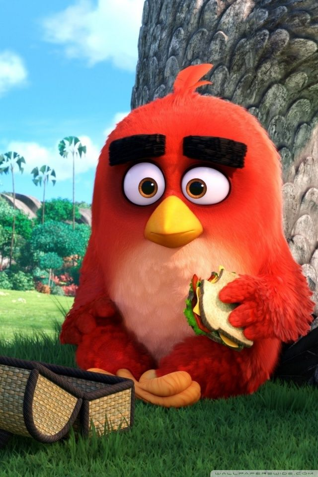 Red Angry Birds Movie Hd Desktop Wallpaper Widescreen High Angry Bird Pictures Cute Cartoon Wallpapers Angry Birds Characters