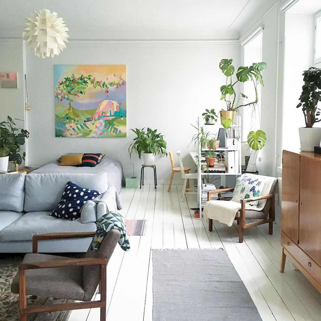36 Simple And Creative Small Apartment Decorating Ideas On