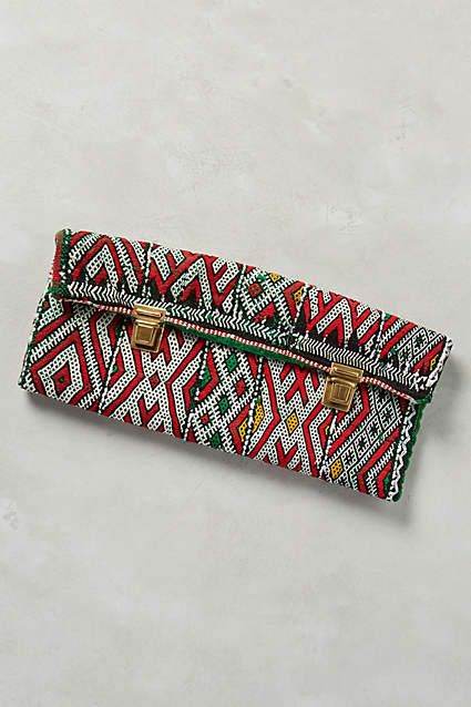 One-of-a-Kind Ghita Clutch - #anthrofave