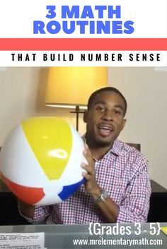 Want to learn new math games and routines that will build number sense in your third, fourth and fifth grade students? Check out this video with 3 FUN math activities that build number sense with upper grade students.