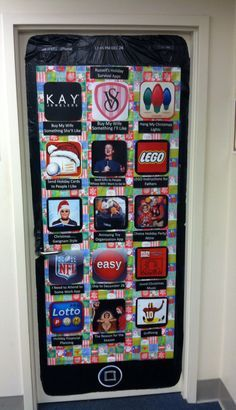 Door decorated as an iPhone. & 08aa1e4f2ddd5ca4a09e39bf48c9fc69.jpg (236×410) | Multimedia ...