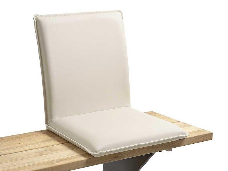Komfortable Outdoor - Sitzschale, die jede Gartenbank mit Polster ...