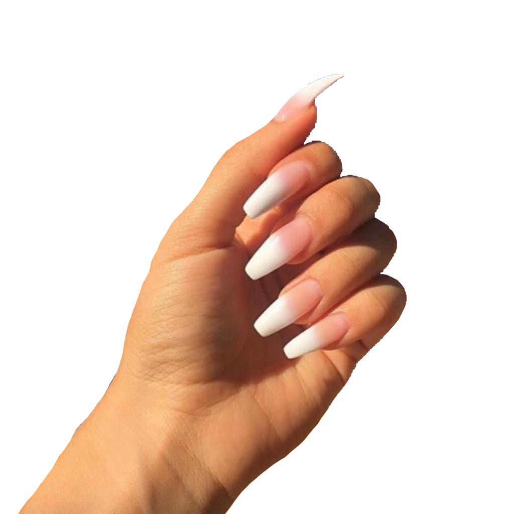 Acrylic Nails Polyvore Png Colourful Acrylic Nails Almond Acrylic Nails Remove Acrylic Nails
