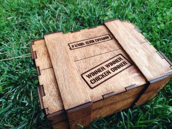 Personalized Pubg Gift Box, winner winner chicken dinner