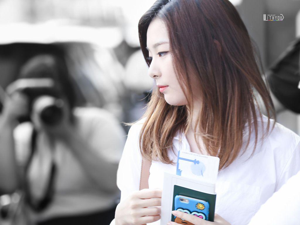 160812 김포공항 출국 레드벨벳 슬기 :: With You RV