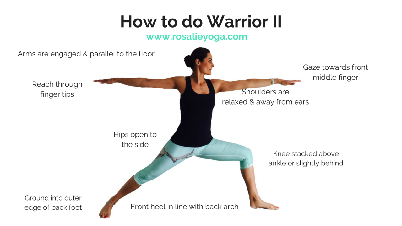How to do Warrior II | Yoga Love | Pinterest | Yoga, Yoga nidra and ...
