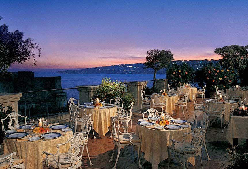 Napoli Ristorante La Terrazza | Hotel Excelsior | Ristorante ...