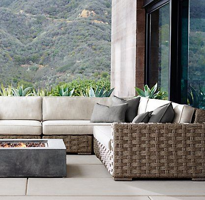 Rutherford Collection Rh Outdoor Patio Furniture Sets Patio