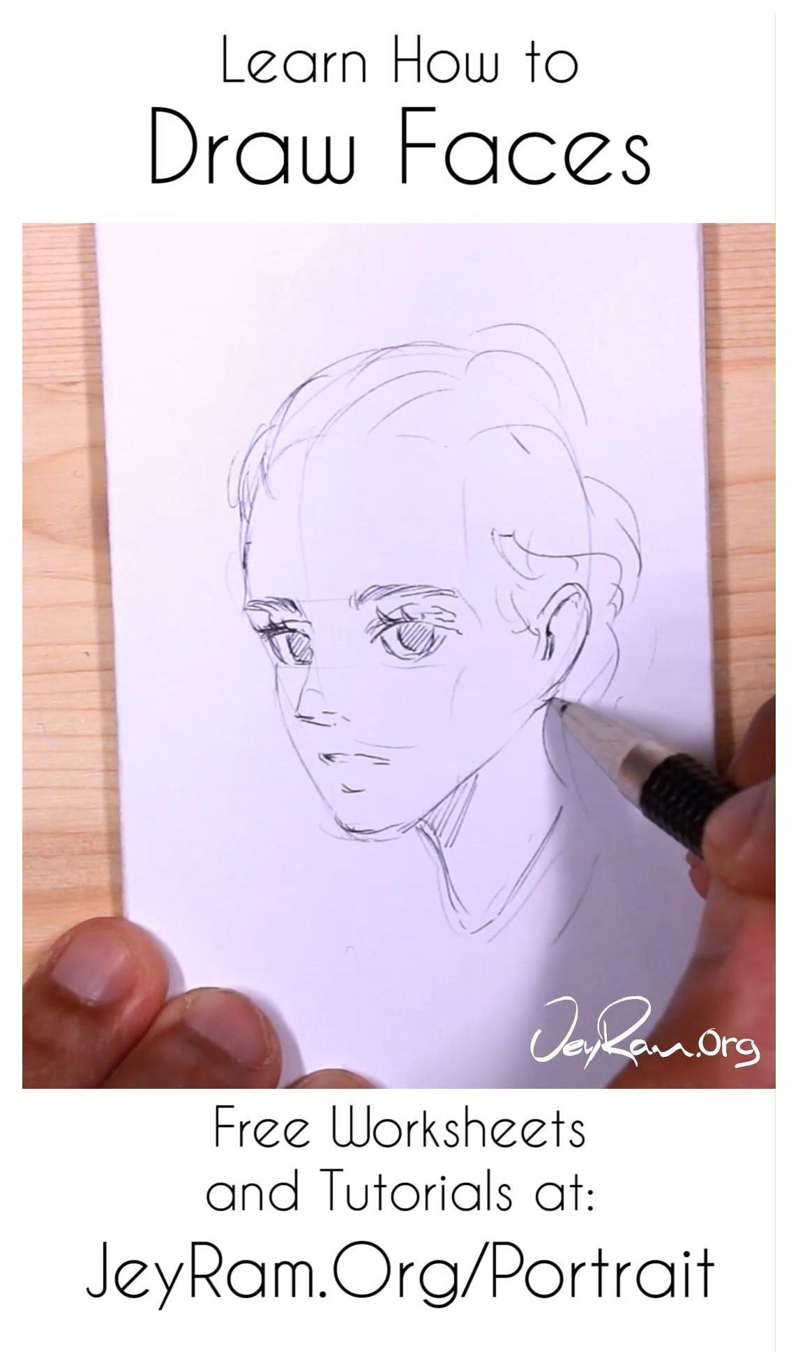 How To Draw Simple Faces Worksheets Amp Tutorials Simple