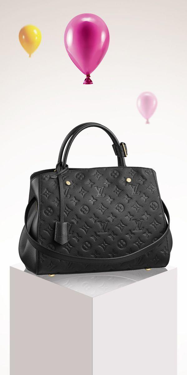 Add the Louis Vuitton Montaigne to your holiday wishlist.   handbag ... e750719402d