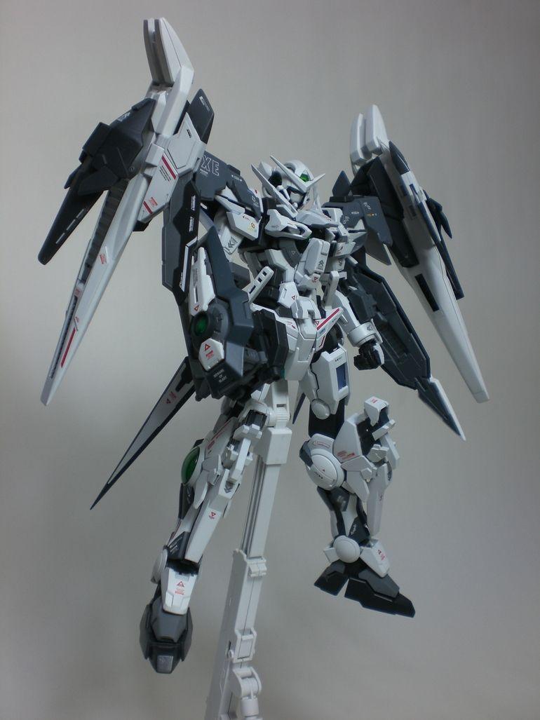"Custom Build: MG 1/100 Exia ""Exceed raiser"" - Gundam Kits Collection News and Reviews"
