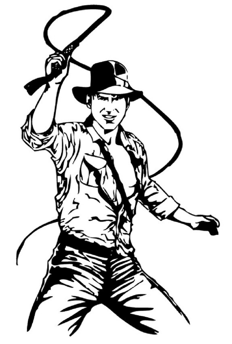 Indiana Jones Coloring Pages Printable Indiana Jones Party Indiana Jones Indiana Jones Birthday Party