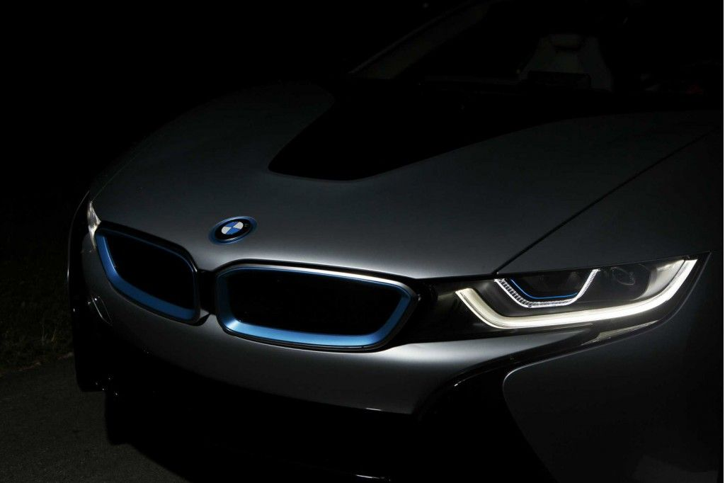 2015 Bmw I8 Headlight Hd Wallpaper For Desktop car
