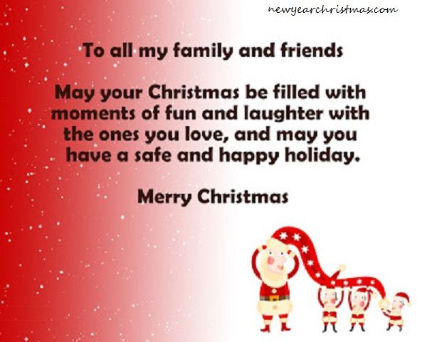 Merry Christmas Wishes for Family and Friends merry christmas - christmas greetings sample