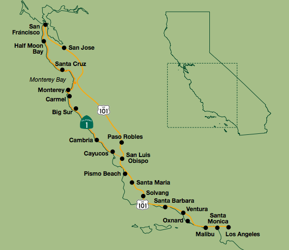 Self Guided Bike Tours Ca Central Coast Wineries Bike Rides In