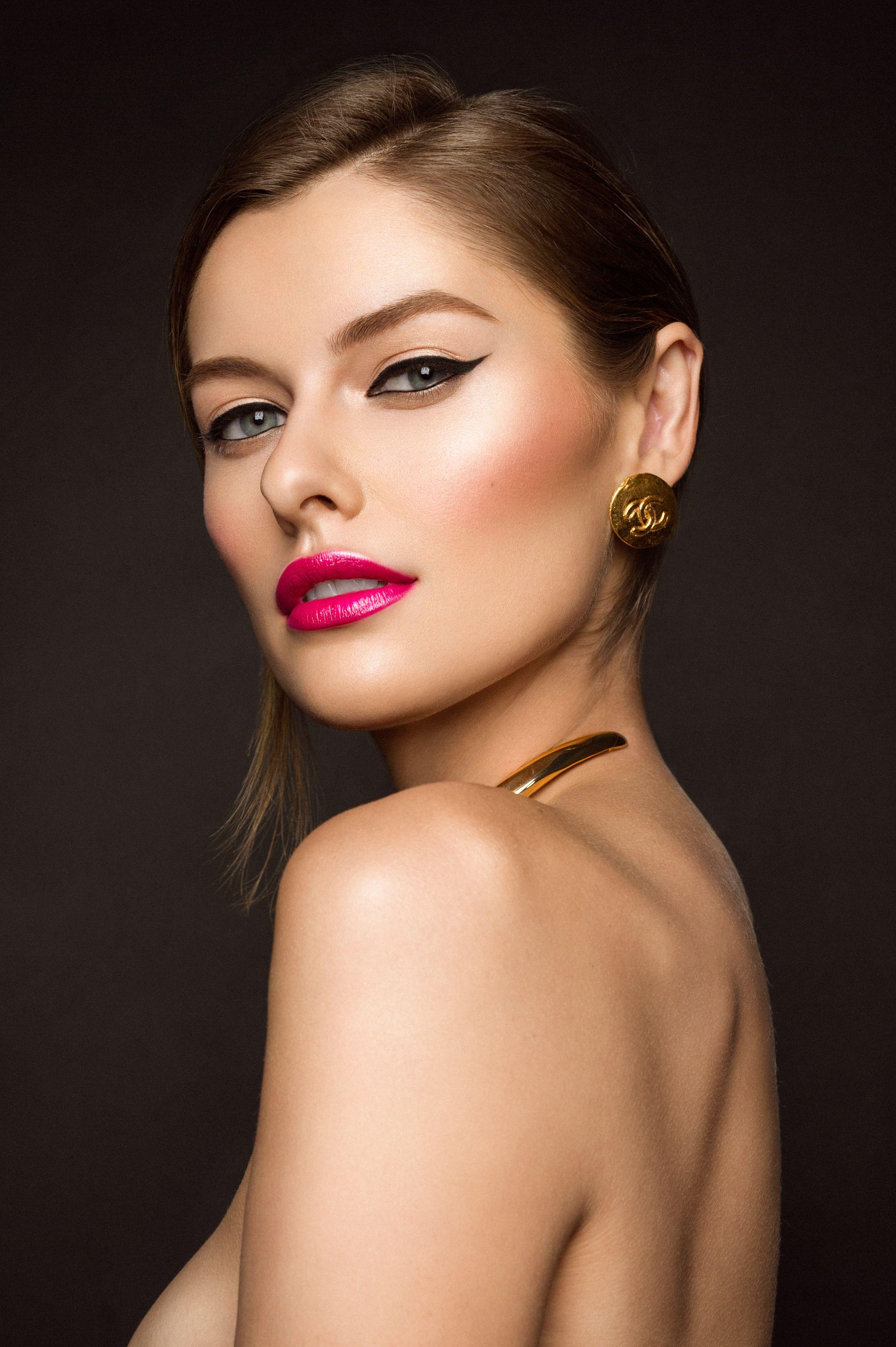 Makeup & Hair Leanna Ernest of MP Factor Chicago, Model