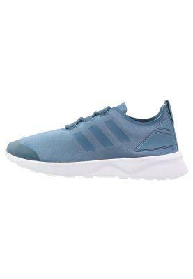 adidas Originals ZX FLUX VERVE - Zapatillas - blanch blue ...