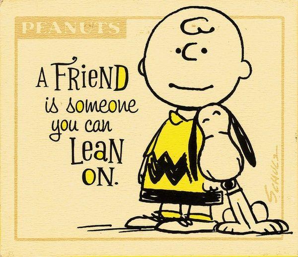 Peanuts peanuts pinterest spr che peanuts gang und freundschaft - Charlie brown zitate ...