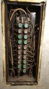 fuse boxes with screw in fuses  something suddenly went off, check the fuse  box