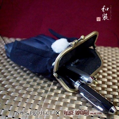 【NO.S PROJECT】紋付羽織袴ポーチ / ヴィレヴァン通販