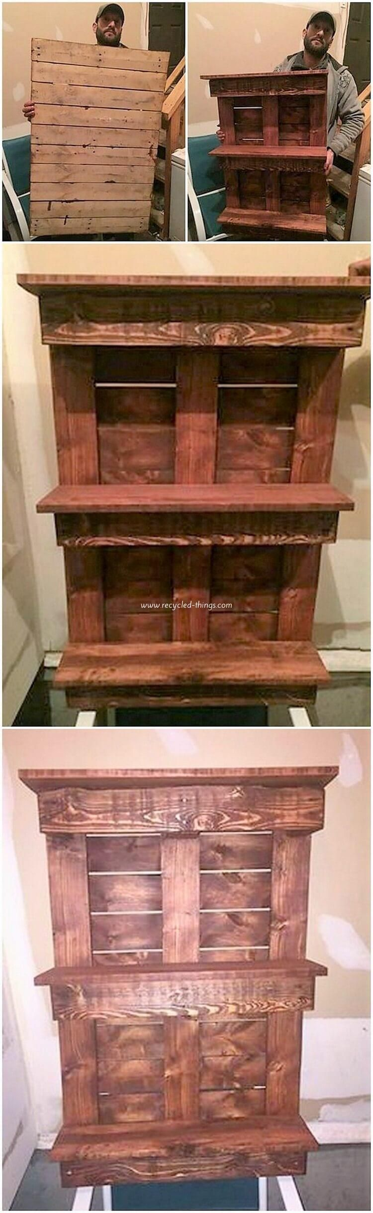 Original and Best Wood Pallet Recycling Projects | Wood ...