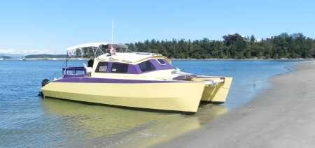 Skoota 28 Transportable Minimum Live Aboard Cruiser Boat