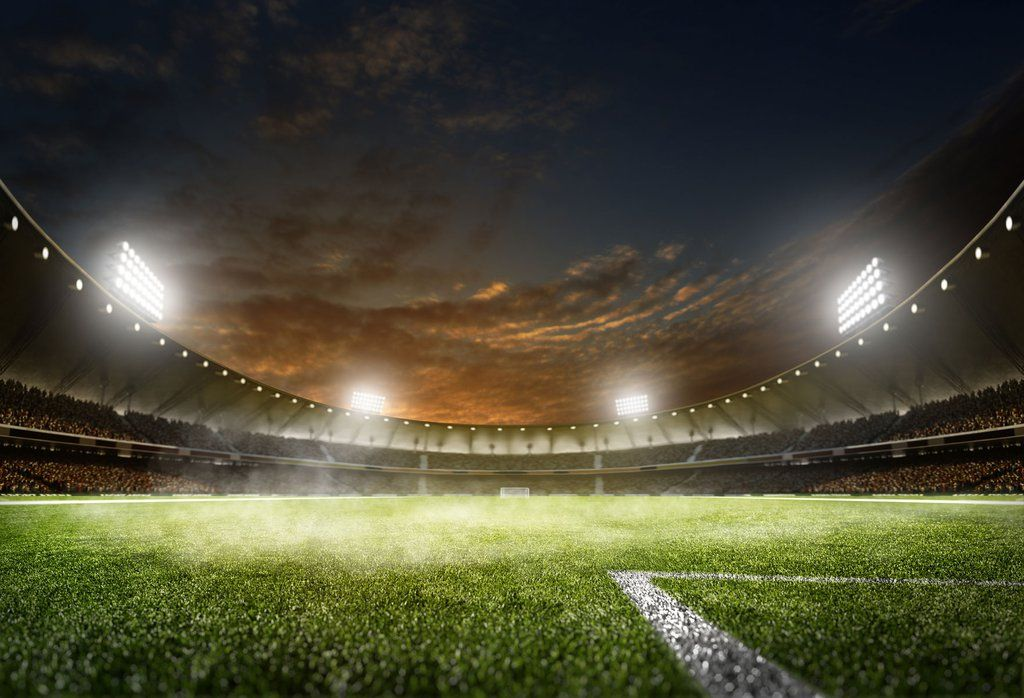 Football Field With Lights Dark Sky World Cup Backdrop Sports Hu0329 Light In The Dark Stadium Wallpaper Football Stadiums