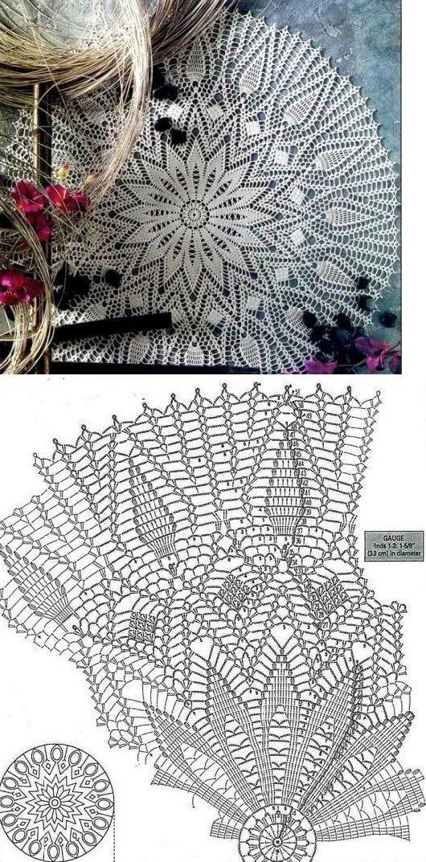 crochet pattern...<3 Deniz <3 | Crochet Home: Doilies | Pinterest ...