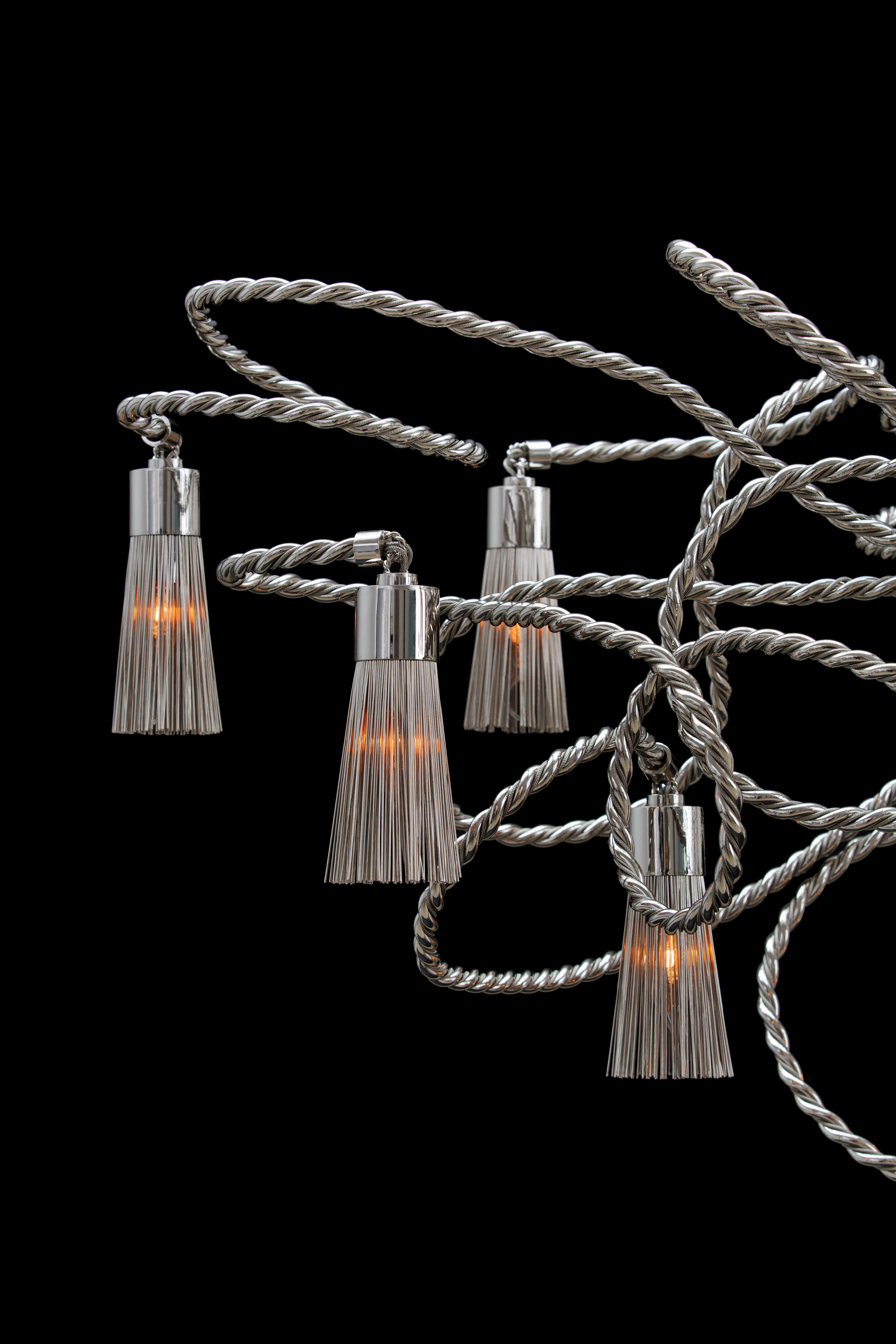 Sultans of swing hanging lamp design by william brand brand van one of the best chandelier brands in light and building 2014 aloadofball Images