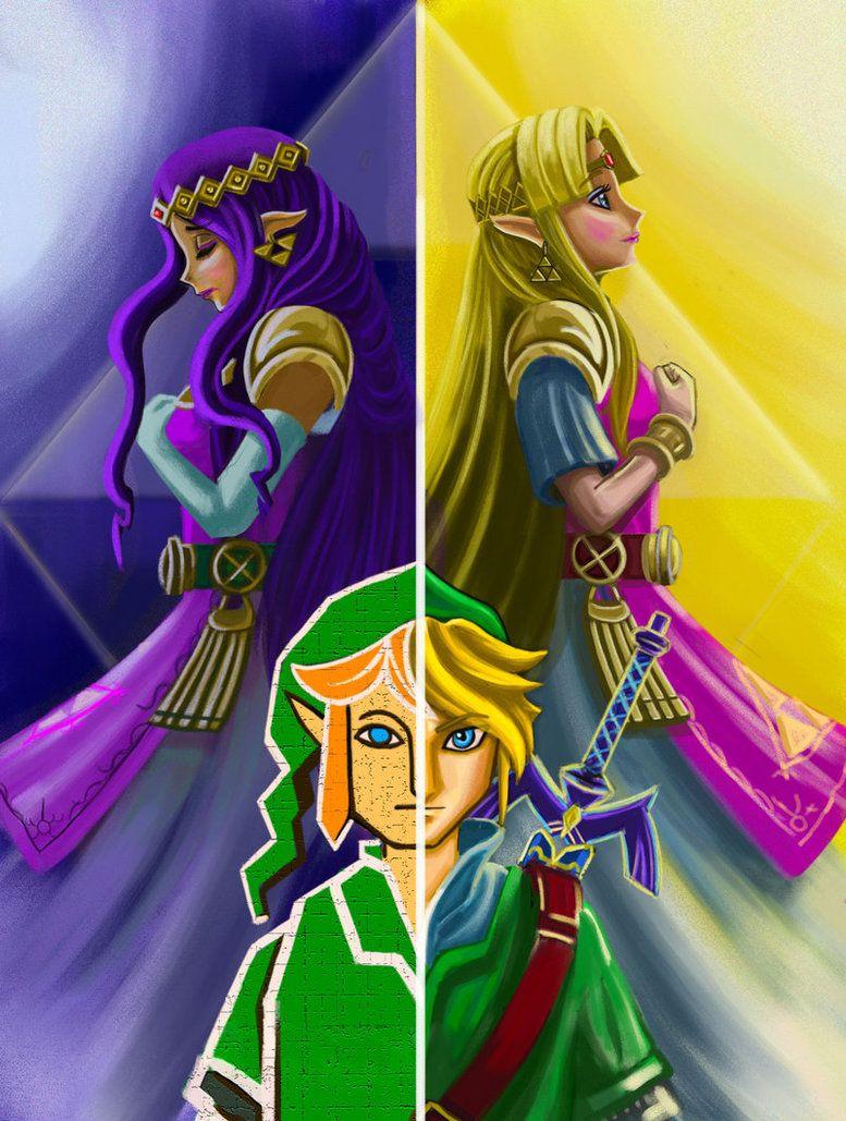 A Link Between Worlds Fan Art By Phoenixboy On Deviantart Legend