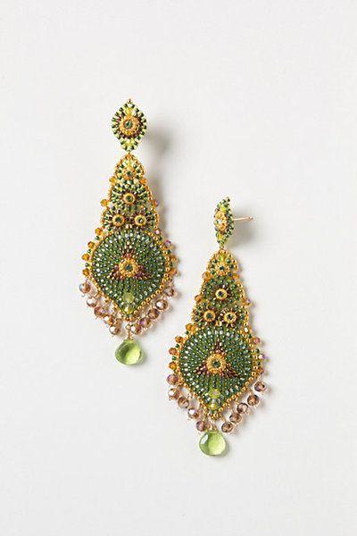 Glentress Earrings from Anthropologie