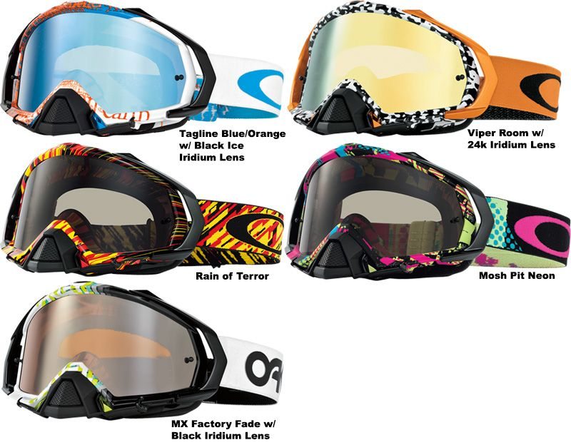 oakley goggles mx  Oakley - Airbrake MX Podium Check Goggle