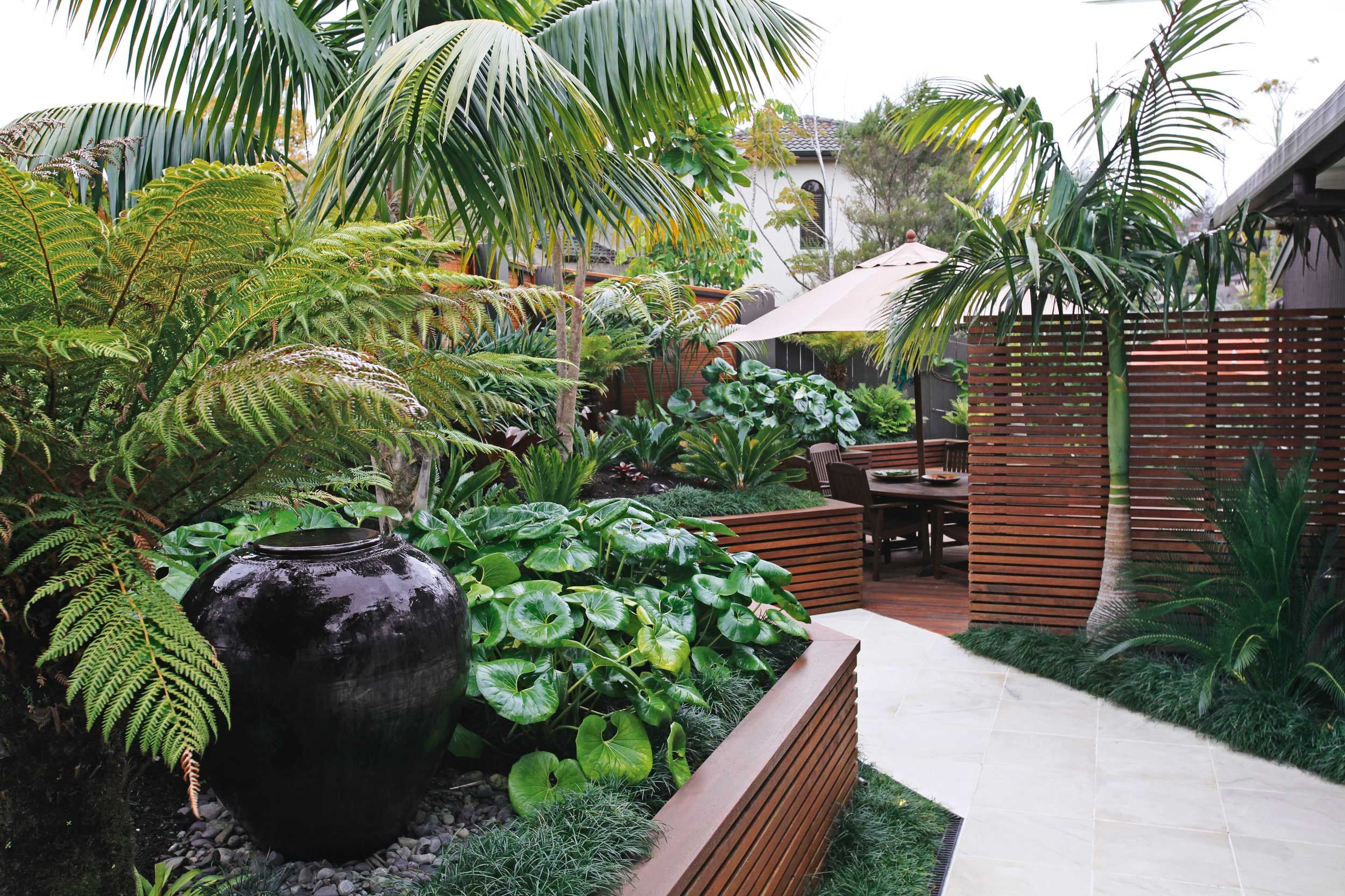 Tropical Home Garden Decoration