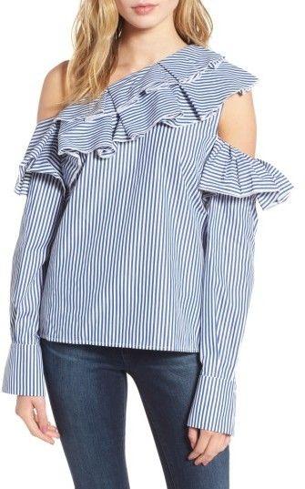 0d4dd14070b Women's Leith Ruffle One-Shoulder Blouse | Fall/Winter Fashion ...