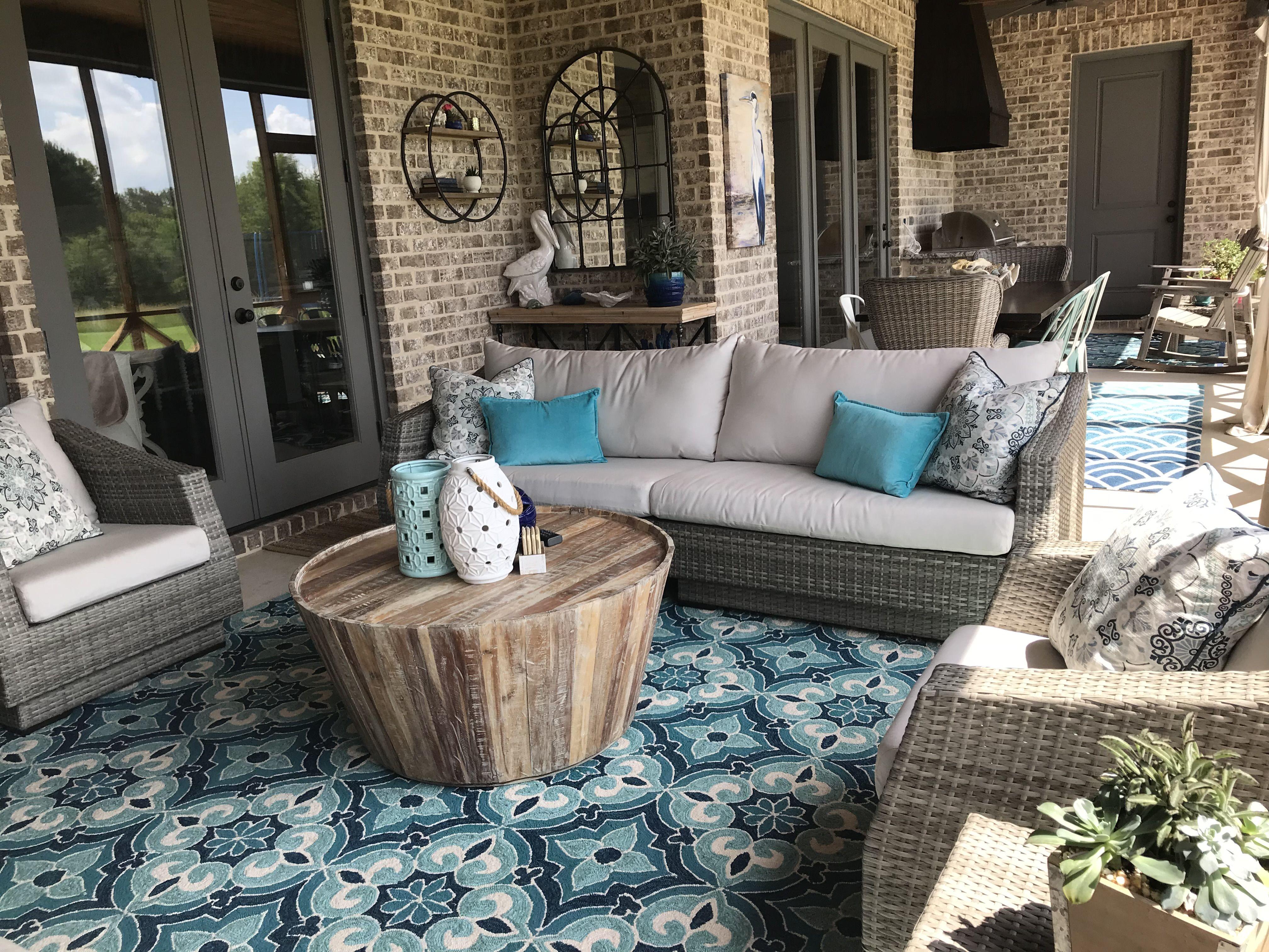 Back porch living at its best rustic room room design