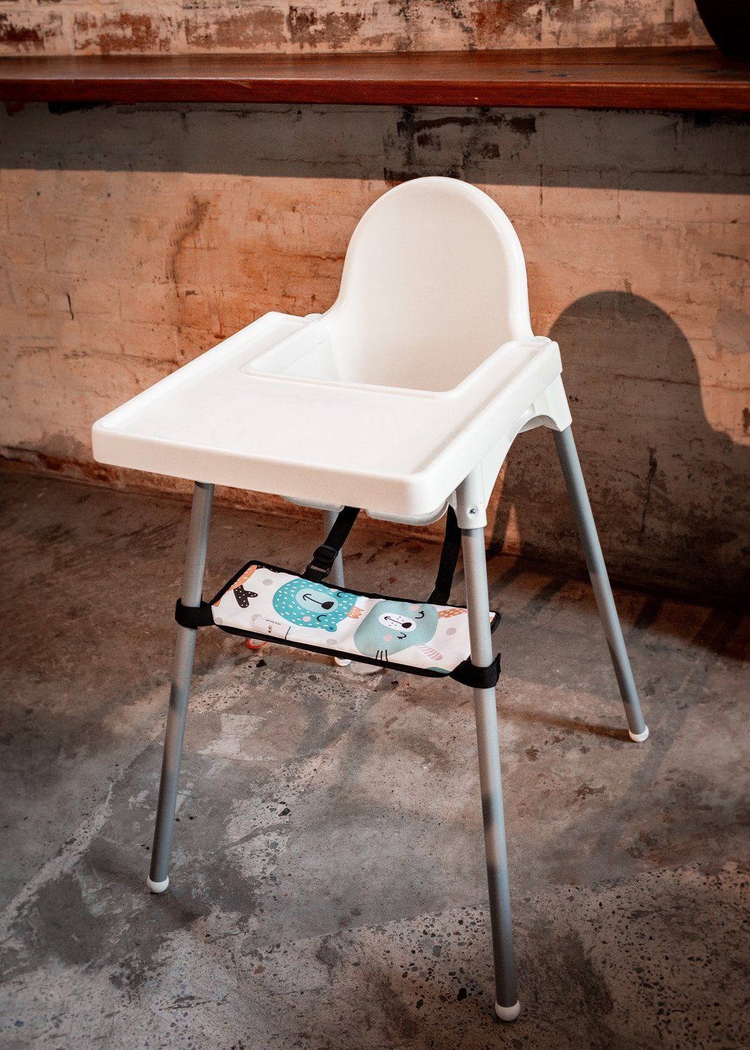 Footsi High Chair Footrest 8 Colour Options Ikea High Chair High Chair Antilop High Chair