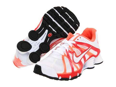 super popular 5e493 b7cba Nike Nike Shox Roadster White Action Red Bright Mango White