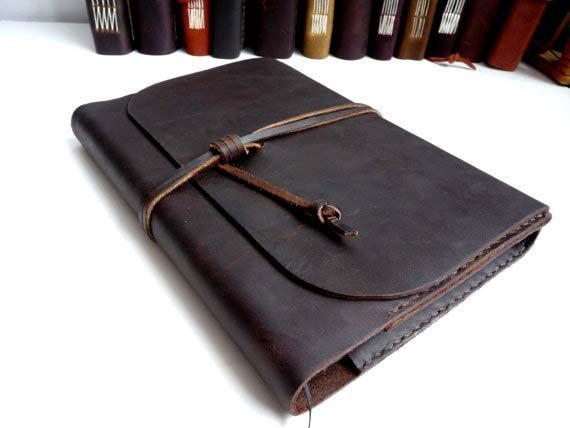 Refillable leather Journal. A5 refillable journal. Leather Book ...