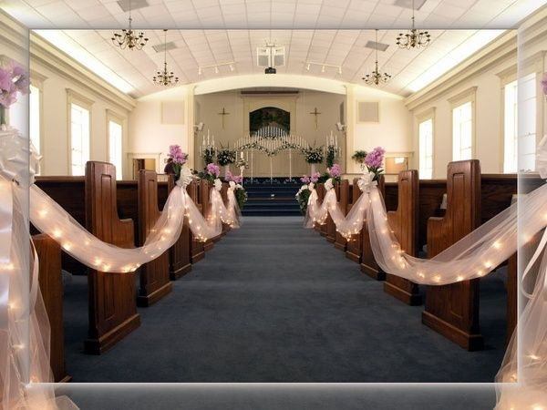 This will be the basic idea for the drapery that will decorate the traditional church wedding decor 2014 set of amazing church wedding decoration browse the latest wedding themes to choose the best church weddng design to junglespirit Images
