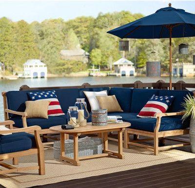 Outdoor Furniture, Blue Outdoor Furniture
