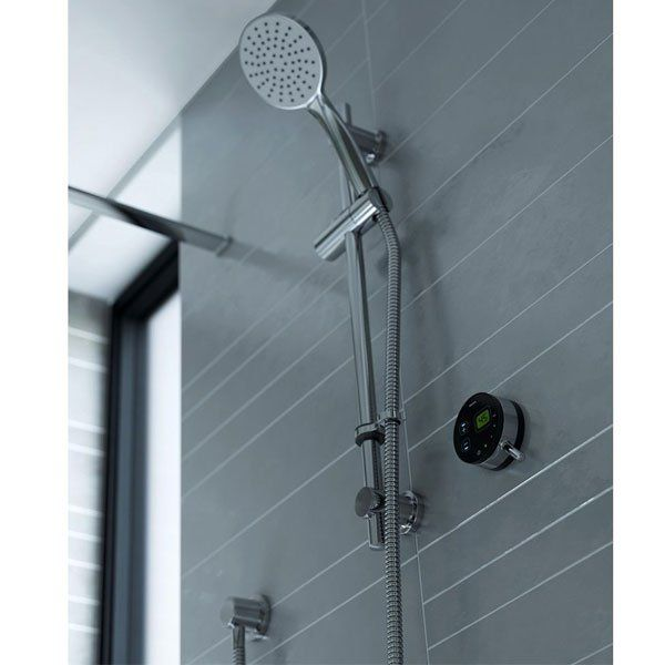 New Bristan Artisan Evo Digital Mixer Shower with Shower Kit Black Chrome 0 For Your Home - Minimalist thermostatic shower panel In 2019