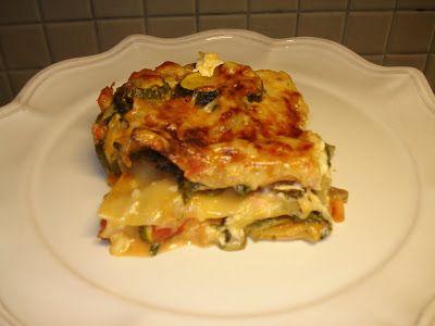 Ett öppet fönster: Vegetarisk lasagne