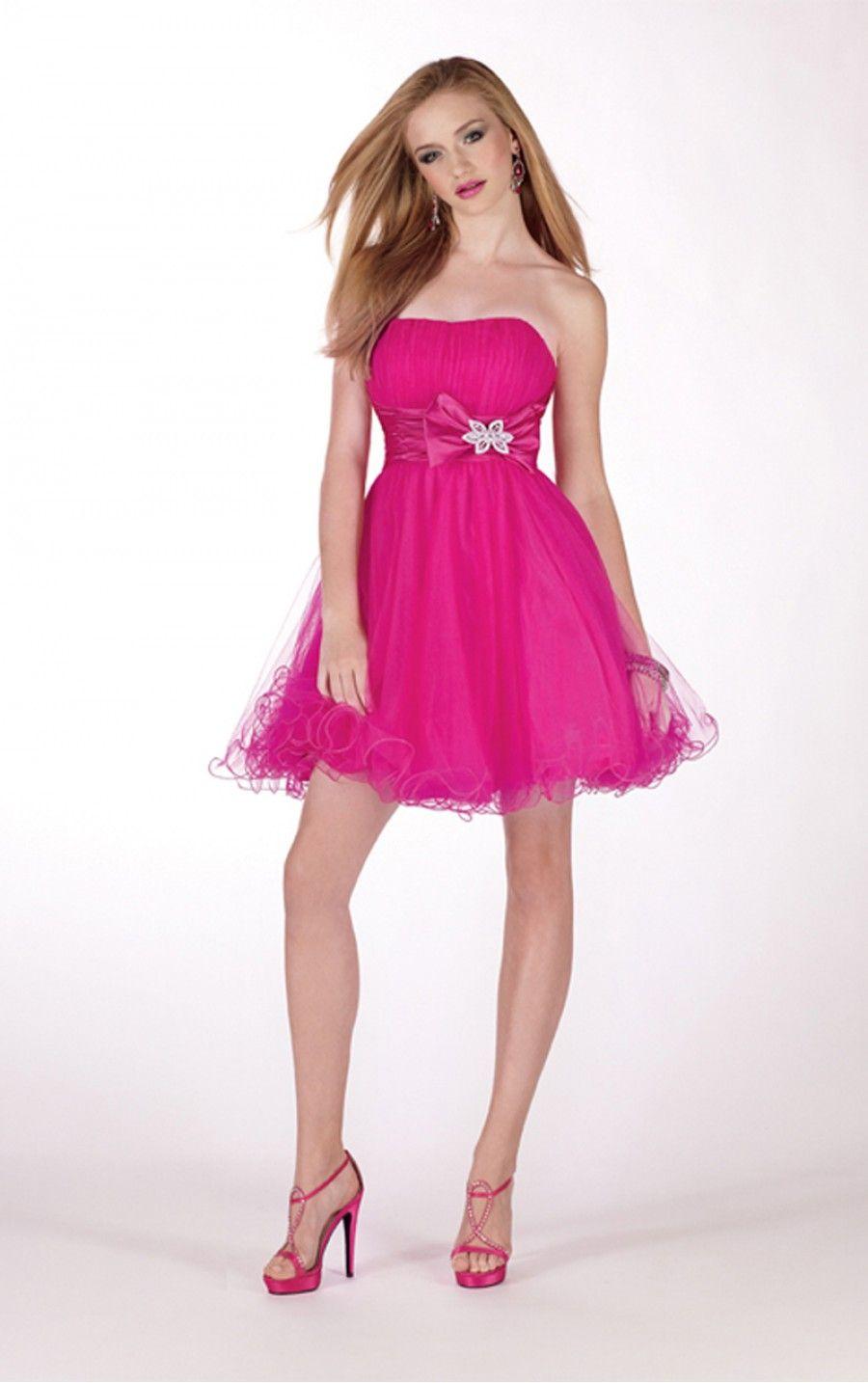 40 Vestidos de 15 años largos y cortos en color rosa | Vestidos ...